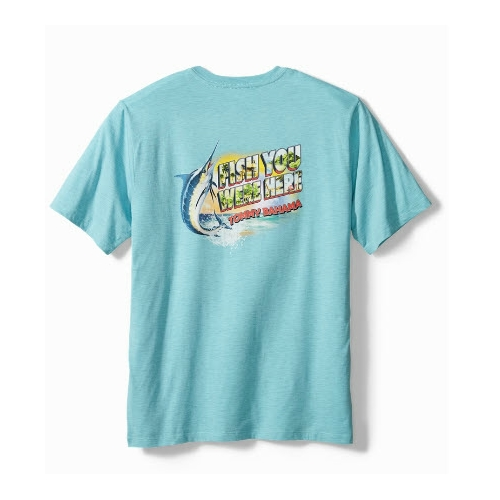 Tommy Bahama Fish You Were Here Tee Thumbnail