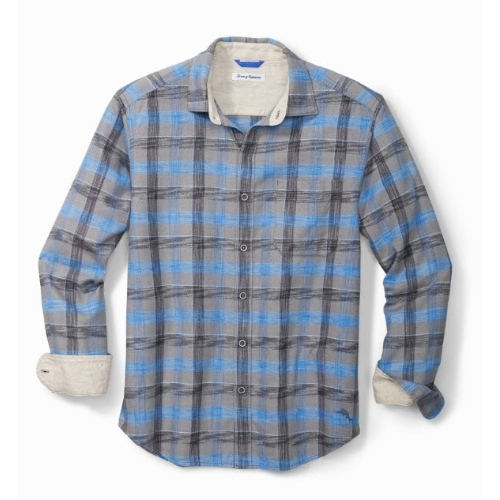 Tommy Bahama Canyon Beach Plaid Shirt Thumbnail