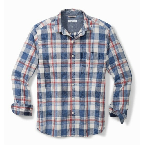 Tommy Bahama Hazy Days Plaid Shirt Thumbnail