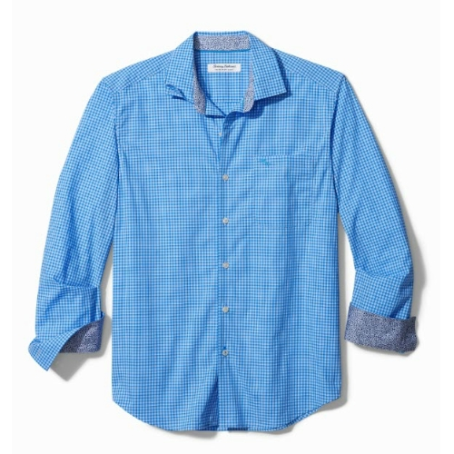 Tommy Bahama Newport Coast Gingham Shirt Thumbnail