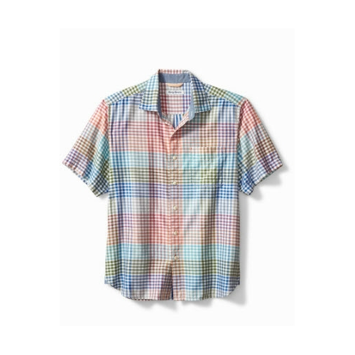 Tommy Bahama Grand View Gingham Camp Shirt Thumbnail