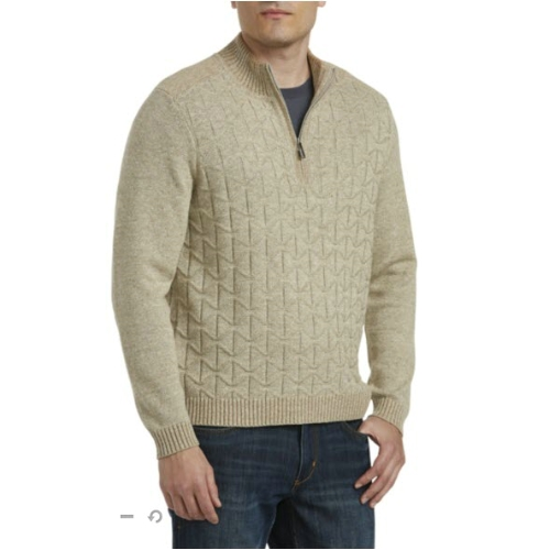 Tommy Bahama Palm Vista Half Zip Sweater Thumbnail