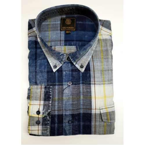F/X Fusion Washed Plaid Sportshirt Thumbnail