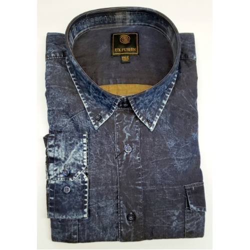 F/X Fusion Denim Washed Sportshirt Thumbnail