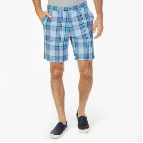 Nauitca Roadmap Plaid Shorts Thumbnail