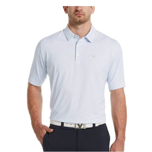 Callaway Swing Tech Chevron Print Polo Thumbnail