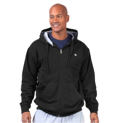 Champion Fleece Zipper Hooded Sweatshirt Thumbnail