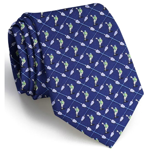 Bird Dog Bay Lacrosse the Field XL Tie Thumbnail
