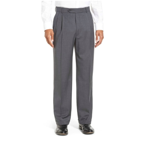 Ballin Super 120s Wool Pleated Pant Thumbnail