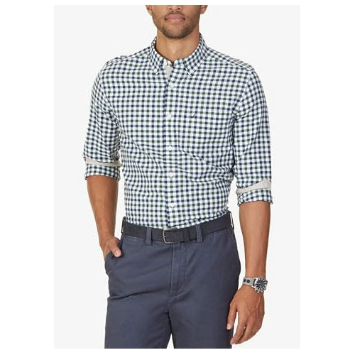 Nautica Long Sleeve Check Sportshirt Thumbnail