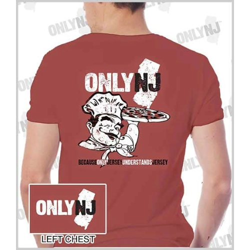 Only NJ Pizza Guy T-Shirt Thumbnail