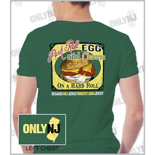 Only NJ Pork Roll T-Shirt Thumbnail