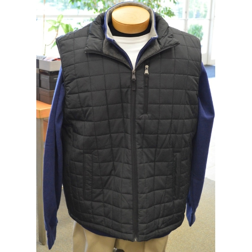 Perry Ellis Quilted Puffer Vest Thumbnail