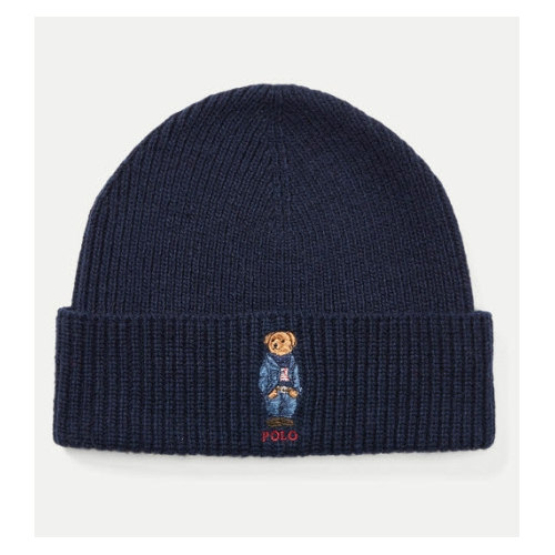 Polo Bear Knit Hat Thumbnail