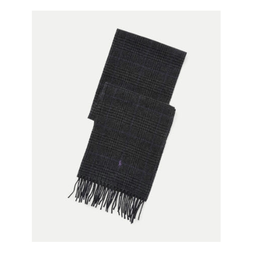 Polo Ralph Lauren Reversible Windowpane Scarf Thumbnail