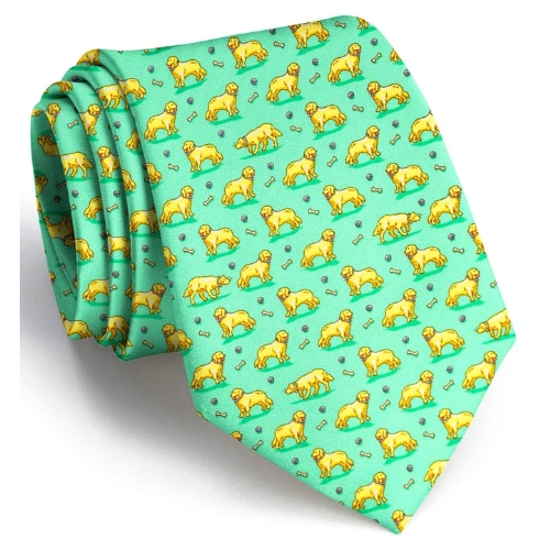 BIrd Dog Bay Puppy Love XL Tie Thumbnail