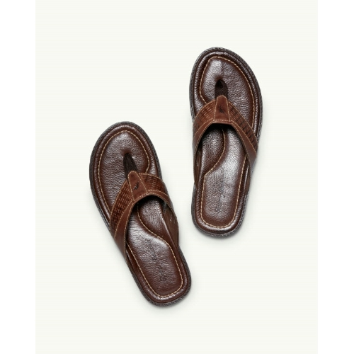 Tommy Bahama Anchors Ashore Leather Sandals Thumbnail